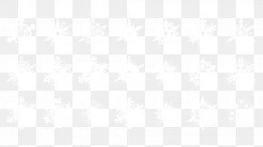White Snowflake Pattern Style - White Black Pattern PNG