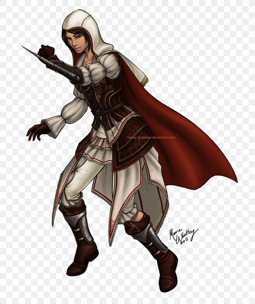 Assassin's Creed: Brotherhood Assassin's Creed: Revelations Assassin's Creed II Ezio Auditore Assassins, PNG, 836x1000px, Ezio Auditore, Action Figure, Armour, Assassins, Cold Weapon Download Free