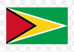 Flag - Flag Of Guyana National Flag Symbol PNG