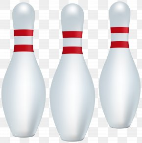 Bowling Pins Clip Art Image - Bowling Pin Ten-pin Bowling Sport Ball Game PNG