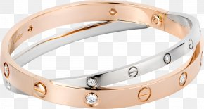 Jewellery - Earring Love Bracelet Cartier Jewellery PNG