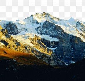 Beautiful Swiss Jungfrau - Jungfrau Mount Scenery Gratis PNG