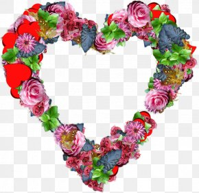 Flower - Flower Heart PNG