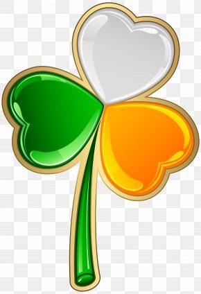 St Patrick's Irish Shamrock Transparent PNG Clip Art - Ireland Shamrock Saint Patrick's Day Clip Art PNG