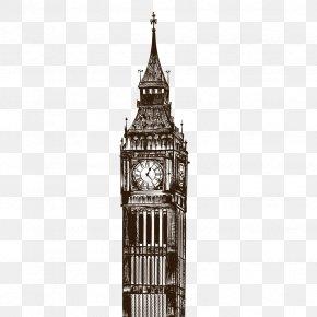 Vector Big Ben - Big Ben Clock Tower Euclidean Vector Bell PNG