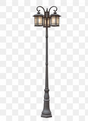 Street Light File - Landscape Lighting Street Light Lantern Light Fixture PNG