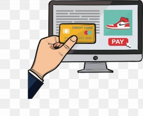 Computer Online Panic Buying - Online And Offline Download Euclidean Vector PNG