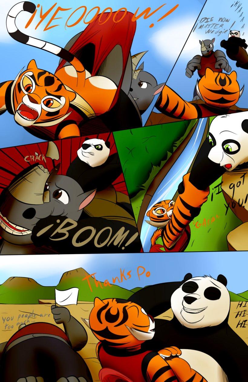 Tigress Po Comics Wedgie Kung Fu Panda Png 1024x1575px Tigress Art Cartoon Character Comics Download Free