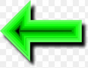Pictures Of Arrows Pointing Left - Green Arrow Clip Art PNG