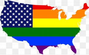 United States - United States LGBT Community Rainbow Flag LGBT Rights By Country Or Territory PNG