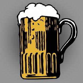 Beer - Wheat Beer Beer Cocktail Beer Glasses Clip Art PNG