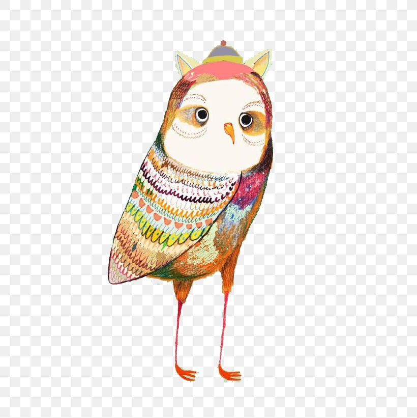 Owl Illustrator Work Of Art Illustration, PNG, 580x821px, Owl, Art, Artist, Beak, Bird Download Free