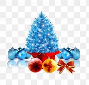 Christmas Elements PSD - Christmas Tree Christmas Gift PNG