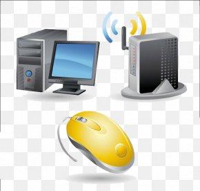 Desktop Computer Mouse - Laptop Computer Mouse Desktop Computer PNG