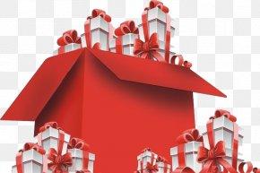 Creative Gift Box - Gift Gratis Euclidean Vector PNG