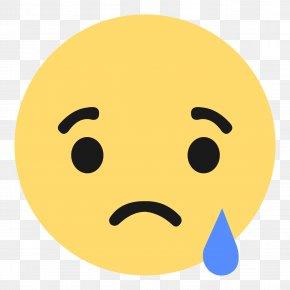 Sad Emoji - Social Media Facebook Emoji Like Button Emoticon PNG