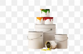 Paint Bucket - House Painter And Decorator Paint Roller Alkyd PNG