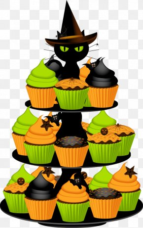 Decorative Cupcakes Cliparts - Birthday Cake Halloween Cake Cupcake Chocolate Cake Wedding Cake PNG