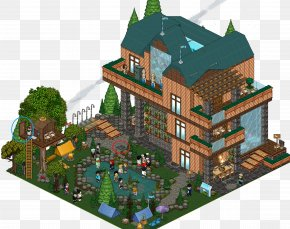 House - Habbo Tree House Room Penthouse Apartment PNG
