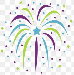 Fireworks - New Year's Eve New Year's Day Party Clip Art PNG