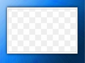 Blue Border Frame Free Download - Board Game Square Pattern PNG