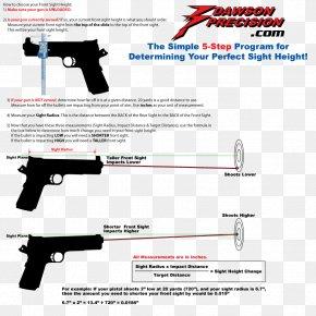 Trigger Firearm Air Gun Gun Barrel Sight PNG