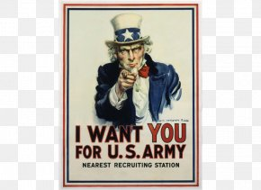 United States - Uncle Sam I Want You United States Army Military Recruitment PNG