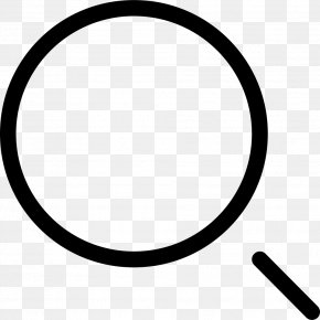 Magnifying Glass - Multimedia Magnifying Glass Button PNG
