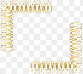 Corners Gold Transparent Clip Art - Clip Art PNG
