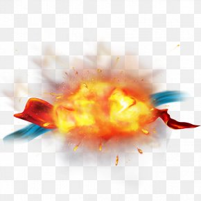 Explosion Effect Material PNG
