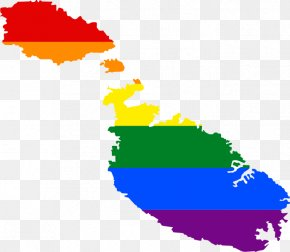 Malta LGBT Rights By Country Or Territory Rainbow Flag PNG