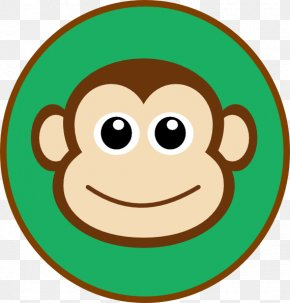 Cute Monkey Clipart - Monkey Cartoon Drawing Face Clip Art PNG