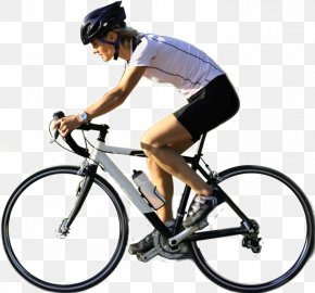 Cycling Transparent Background - Architectural Rendering PNG
