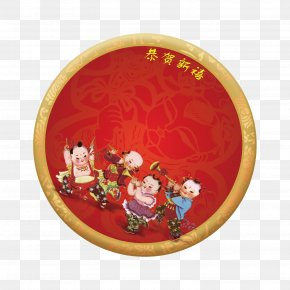 Chinese New Year Celebrations In Small Vector Material - Chinese New Year Download PNG