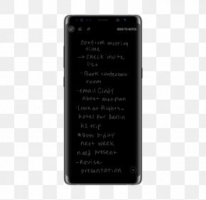 Note 8 - Samsung Galaxy Note 8 Telephone Mobile Security Samsung Knox PNG