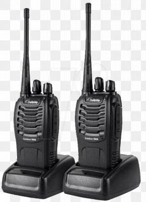 Walkie Talkie - Two-way Radio DeTeWe Outdoor 9000 Hardware/Electronic PMR446 Detewe Outdoor 8000 Duo Case Radio 208046 Xbox One PNG