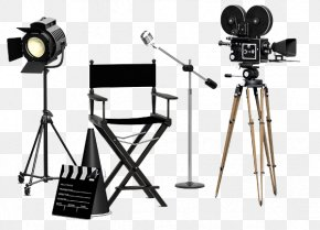Media - Film Stock Photography Set Construction Stock Illustration PNG