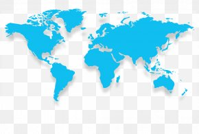 World Map - World Map Wall Decal Globe PNG