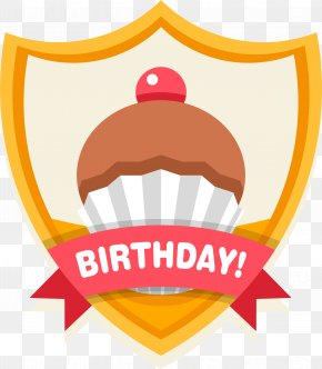 Happy Birthday Celebration Label - Birthday Cake Happy Birthday To You Clip Art PNG