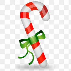 Cane, Christmas Icon - Candy Cane Santa Claus Christmas PNG