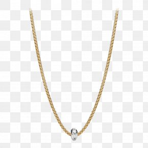 Necklace - Necklace Jewellery Gold Chain Candere PNG