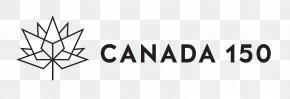 Canada Day - 150th Anniversary Of Canada Logo Sticker Zazzle PNG