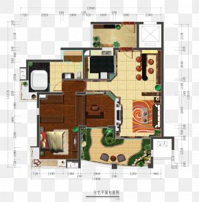 Color Interior Design Floor Plan - Floor Plan Interior Design Services Download PNG