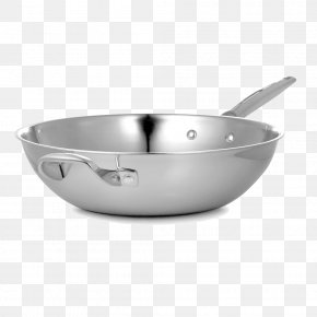 With Non-stick Frying Pan - Frying Pan Non-stick Surface Stock Pot Cookware And Bakeware Stainless Steel PNG