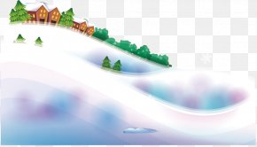 Cold Winter Snow - Daxue Winter Snow PNG