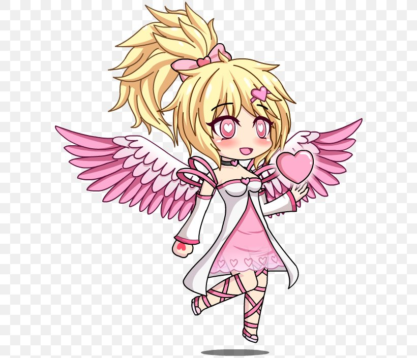 Gacha World Gacha Studio (Anime Dress Up) Cupid And Psyche Valentine's Day, PNG, 609x705px, Watercolor, Cartoon, Flower, Frame, Heart Download Free