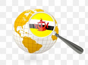 Flag Of Brunei - Globe Flag Of Nepal Map Stock Photography PNG