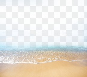 Beautiful View Of The Beach - Floor Tile Sky Microsoft Azure Pattern PNG