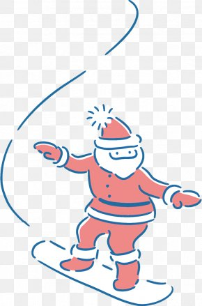 Playing Sports Playing In The Snow - Cartoon Clip Art Line Pleased Playing In The Snow PNG