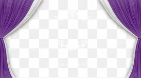 Wedding Background - Curtain Purple Pattern PNG